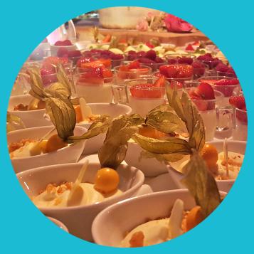DJ Hochzeit Dessert Musik